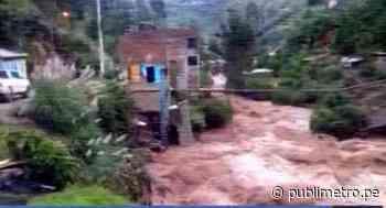 Pasco: Yanahuanca incomunicada hace 22 días tras desborde de río Chaupihuaranga - Publimetro Perú
