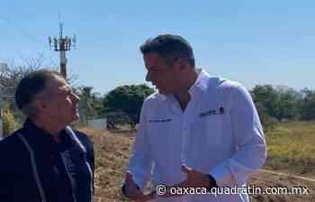 Supervisa Murat proyecto de nuevo aeropuerto en Puerto Escondido - Quadratín Oaxaca