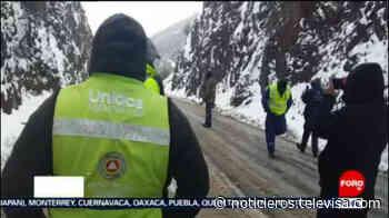 Sigue cerrada la circulación en la carretera Janos – Agua Prieta por nevadas - Noticieros Televisa