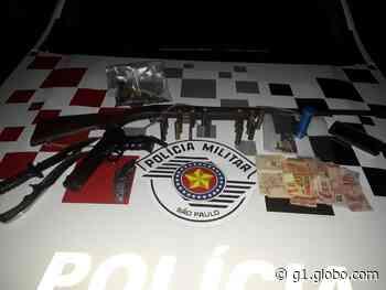 Cabeleireiro é preso por posse ilegal de arma em Ilha Solteira - G1