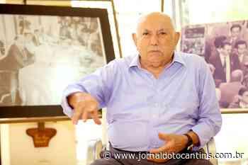 Ex-governador Siqueira Campos relata emoção na volta ao Palácio Araguaia - Jornal do Tocantins