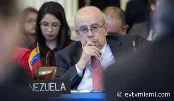 Embajador Tarre Briceño condena prohibición de entrada al país a la CIDH - evtvmiami.com