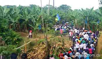 Dos grupos de comunidades indígenas se desplazaron en Frontino, Antioquia - Caracol Radio
