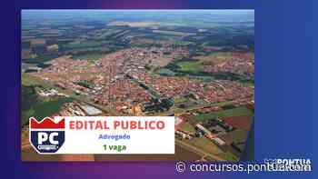 Concurso Câmara de Conchal: vagas para Advogado - Pontua Concursos