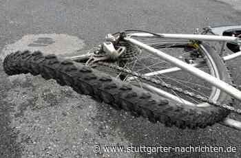 Unfall in Tamm - VW drängt Radler von der Straße - Stuttgarter Nachrichten