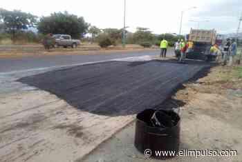 Invilara: 80 toneladas de asfalto se colocó en el Tocuyo #3Feb - El Impulso