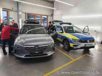 Wasserstoffauto: Polizei Osnabrück testet Hyundai Nexo - Cleanthinking.de