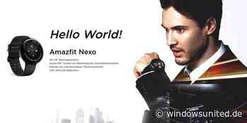 Huami veröffentlicht Amazfit Nexo-Smartwatch - WindowsUnited