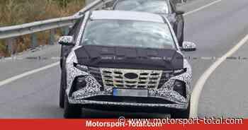 Hyundai Tucson (2020) mit weniger Tarnung: Frontpartie nach Art des Nexo - Motorsport-Total.com