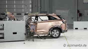 Wasserstoff-SUV Hyundai Nexo absolviert IIHS-Crashtests mit Bestwertung - ecomento.de