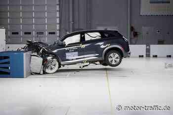 Hyundai Nexo absolviert US-Sicherheitstests mit Top-Note - MOTOR-TRAFFIC.de