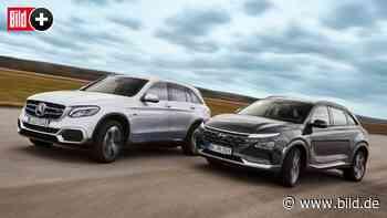 Mercedes GLC F-Cell und Hyundai Nexo: Ist Wasserstoff das neue Super? - BILD