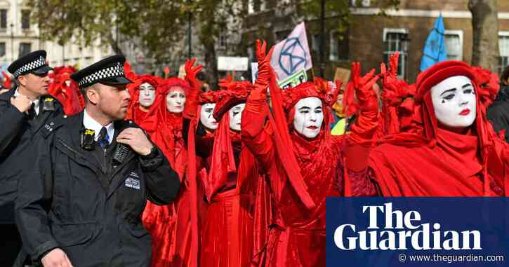 Terrorism police assessed Extinction Rebellion earlier than thought
