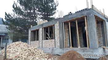 New building of Kyzyl-Unkur village council under construction - AKIpress