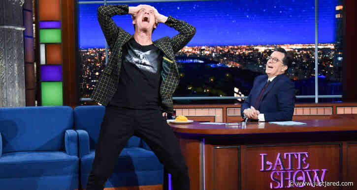Jim Carrey Makes Epic Elaborate Entrance on 'The Late Show' & Slams Trump - Watch Here!