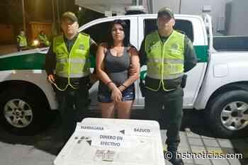 Cayó venezolana con marihuana en Acacías   HSB Noticias - HSB Noticias