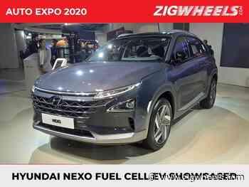 Hyundai Showcases Its Future With The Nexo FCEV At Auto Expo 2020 - ZigWheels.com