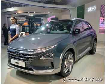 Auto Expo 2020: Hyundai Nexo FCEV SUV showcased - CNBCTV18