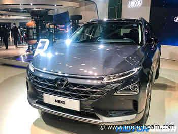 Hyundai Nexo FCEV Showcased At 2020 Auto Expo - MotorBeam.com