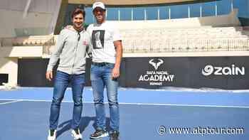 Rafael Nadal & David Ferrer Inaugurate The Rafa Nadal Academy Kuwait - ATP Tour
