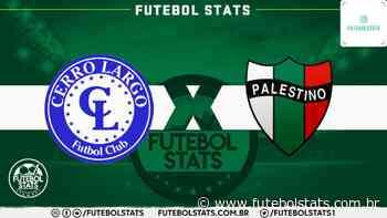 Onde assistir Cerro Largo x Palestino Futebol AO VIVO – Copa Libertadores 2020 - Futebol Stats