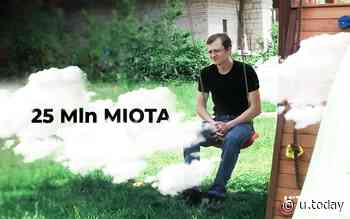 IOTA Co-Founder Demands 25 Mln MIOTA from David Sonstebo, Insisting He Resign - U.Today