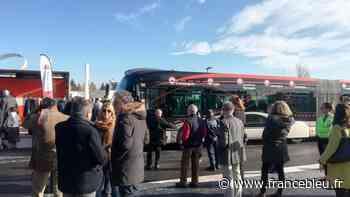 L'extension du Tram'bus 1 inaugurée samedi à Caissargues - France Bleu