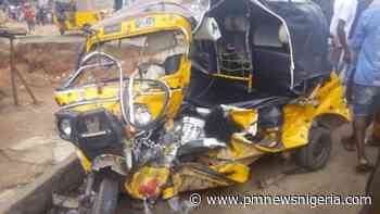 Protest in Yenagoa after truck crushed 5 inside tricycle to death - P.M. News