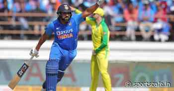 Twitter reacts to Rohit Sharma's cheeky grin after Kane Richardson's 'fake fielding' attempt - SportsCafe