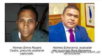 Frustran atraco a la casa del exalcalde de Zona Bananera - El Informador - Santa Marta
