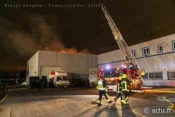 Seine-et-Marne. Incendie de local industriel à Tournan-en-Brie - actu.fr