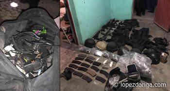 Decomisan armas, droga y vehículos en Tula, Tamaulipas - López-Dóriga