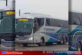 Choca autobus de Transpais cerca de Tula 2 lesionados - Hoy Tamaulipas