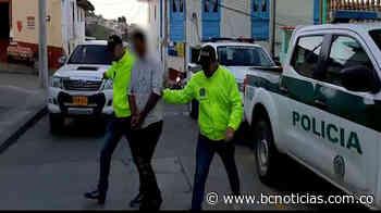 """En Aguadas capturaron a """"Pajarilla"""" por un homicidio - BC Noticias"""