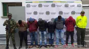 Desarticulan banda de atracadores que delinquía en Túquerres - Extra Pasto