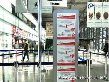 Allerta Coronavirus, controlli all'aeroporto di Falconara Marittima - Marche Notizie