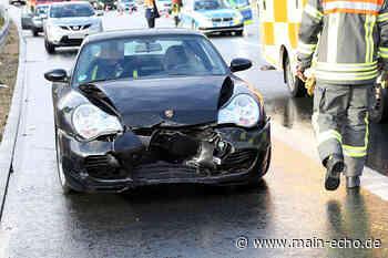 Porsche kollidiert mit Sattelzug – Unfall auf A3 bei Waldaschaff - Main-Echo