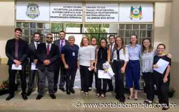 Novos defensores públicos visitam a Penitenciária de Arroio dos Ratos - Portal de Camaquã