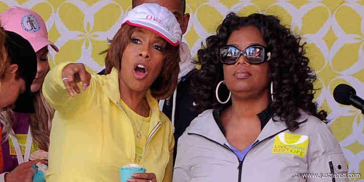 Oprah Cries While Admitting Gayle King Has Gotten 'Death Threats' Over Kobe Bryant Interview Question Scandal