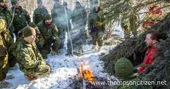 Army reservists testing winter survival skills with snowmobile trek from Gillam to Churchill Feb. 14 - Thompson Citizen