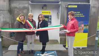 Tre nuovi bancomati di Poste a Vocca, Postua e Tricerro - TG Vercelli - tgvercelli.it