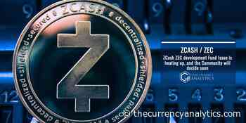ZCash ZEC development Fund Issue is heating up, and the Community will decide soon - The Cryptocurrency Analytics