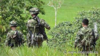 Ocho soldados heridos al caer en un campo minado en Montecristo, Bolívar - El Heraldo (Colombia)