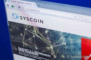 Syscoin (SYS) Makes Comeback Amid Downturn; 76% Spike Ahead of Project Rebrand - Hacked