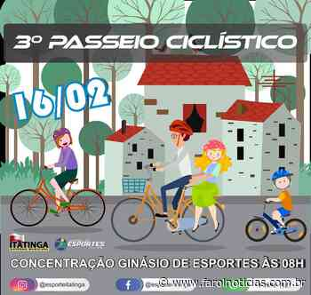 Itatinga promove seu 3° Passeio Ciclístico - Farol Notícias