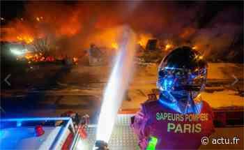 Val-de-Marne. Bonneuil-sur-Marne : les N19 et N406 coupées à cause d'un incendie - actu.fr