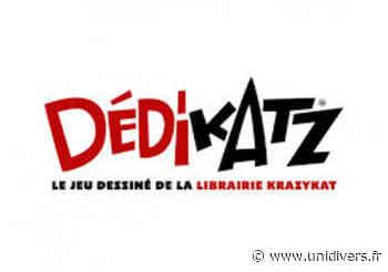 DEDIKATZ, dédicace, jeu et spectacle dessiné ! Avec Régis Lejonc Médiathèque de Podensac 21 février 2020 - Unidivers