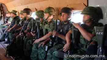 El Ejército Mexicano asegura droga en Santiago Papasquiaro, Dgo. - Notimundo