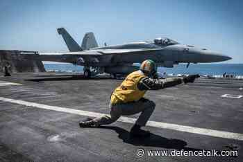 Boeing Delivers the First Upgraded F/A-18 Fighter Jet to US Navy