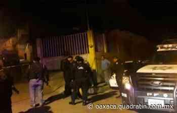 Disparan a una mujer en Puerto Escondido 12:03 06 Feb 2020 OAXACA, Oax., 6 de - Quadratín Oaxaca